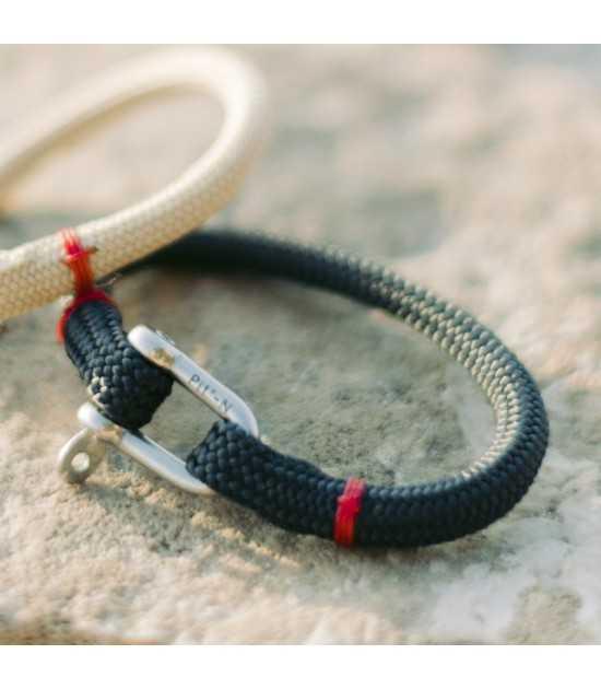 Navigator fil rouge bracelet marin français- CP Pit-n.com - Jeremy Froeliger