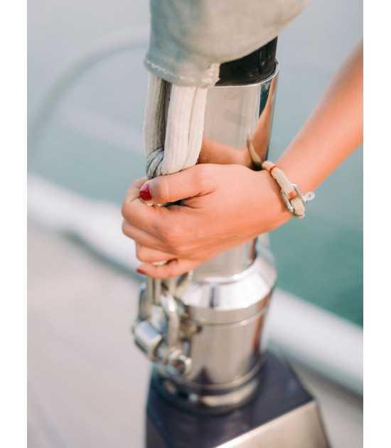 Beach & Sea beige fil rouge 3 -bracelet marin français- CP Pit-n.com - Jeremy Froeliger