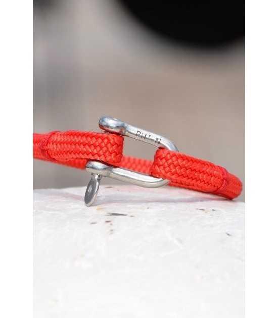 Transat rouge fil rouge 8 -bracelet marin français- CP Pit-n.com - cins.06photography