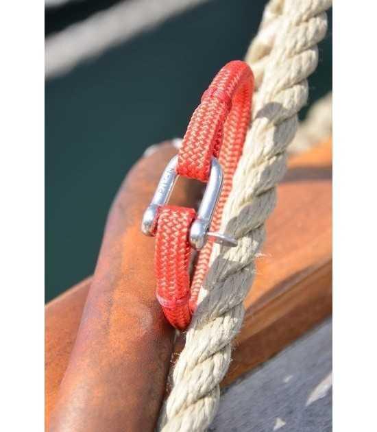 Transat rouge fil rouge 9 -bracelet marin français- CP Pit-n.com - cins.06photography