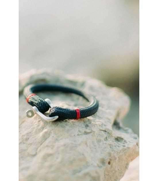 Navigator bleu fil rouge bracelet marin français 2 - CP Pit-n.com - Jeremy Froeliger