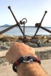 Navigator bleu fil rouge bracelet marin français 2 - CP Pit-n.com