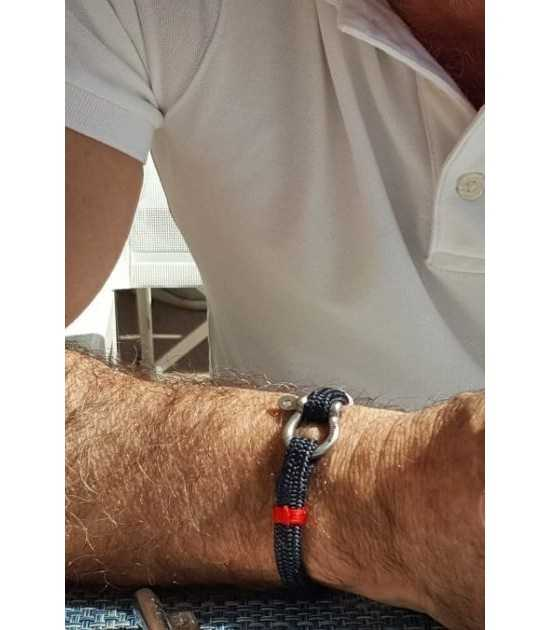 Navigator bracelet marin Tradition - rouge pit-n.com