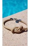 infinity bracelet bijou noeud marin en cordage