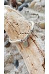 Infinity bracelet collection noeuds marins cordage beige fermoir