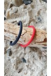 latitude collection essentiel bracelet marin cordage bleu marine