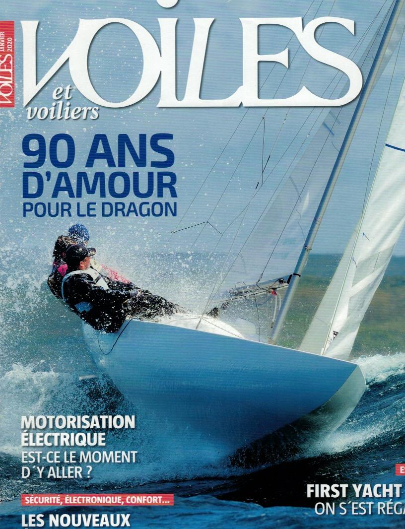 article de presse voiles et voiliers pit-n collection bijoux marins français