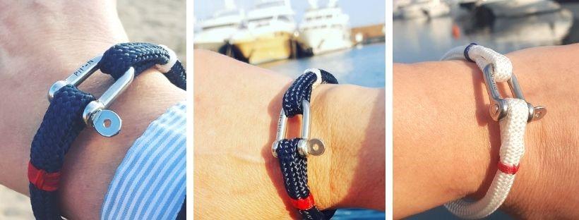 frenchies - bracelets marins francais ambassadeurs cannes