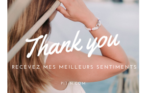 CARTE CADEAU THANK YOU FEMME